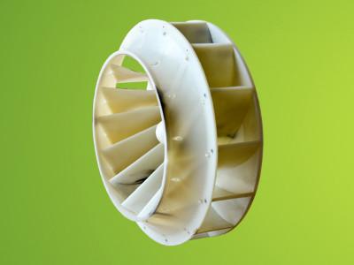 环保设备注塑成型PP风机