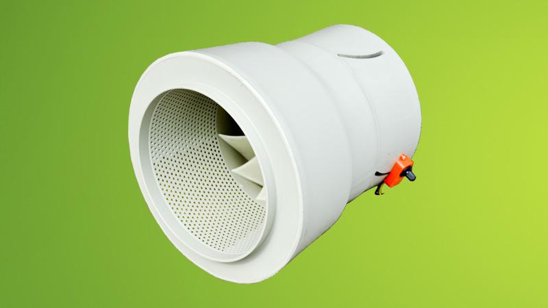 环保设备注塑成型PP斜流风机