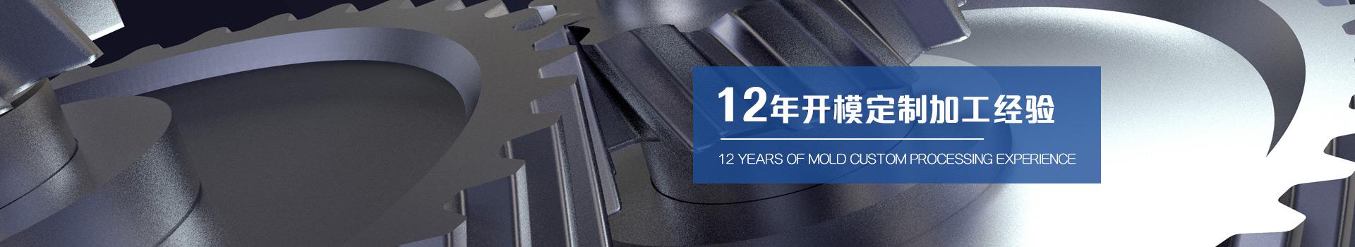 闻辞模具 12年专注于注塑加工一体化服务